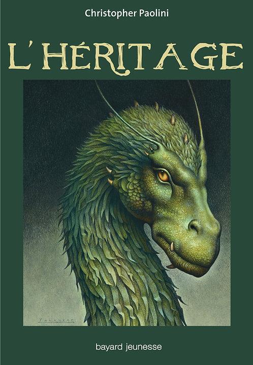 Eragon Tome 4:  L'héritage (Grand Format)