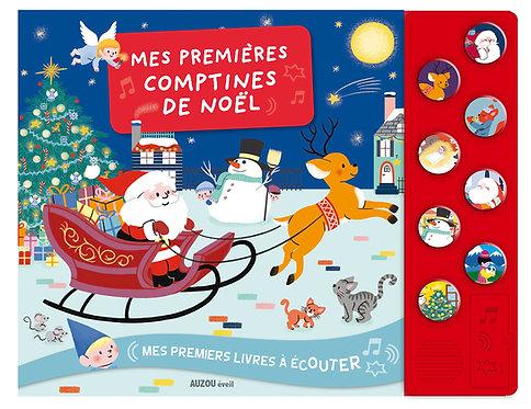 Mes premières comptines de Noël (avec 1 CD audio MP3)