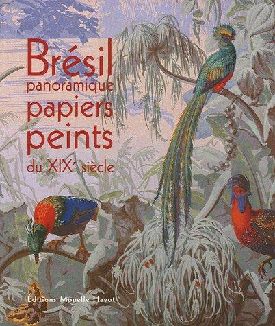 Brésil panoramique - Papiers peints du XIXe siècle