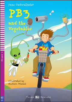 PB3 and the Vegetables (Young ELI Readers A1 with 1 audio CD)