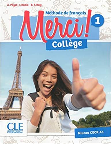 MERCI FLE 1 Manuel élève+DVD Rom + cahier d'activites