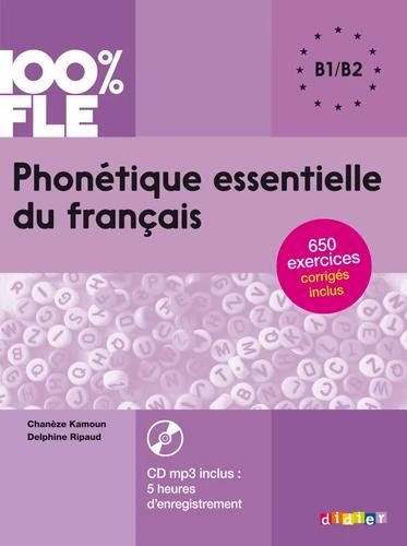 Phonétique essentielle du français B1-B2 (avec 1 CD audio MP3)