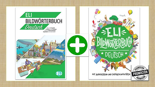 ELI Diccionario Ilustrado en alemán + ELI Vocabulario Ilustrado en alemán