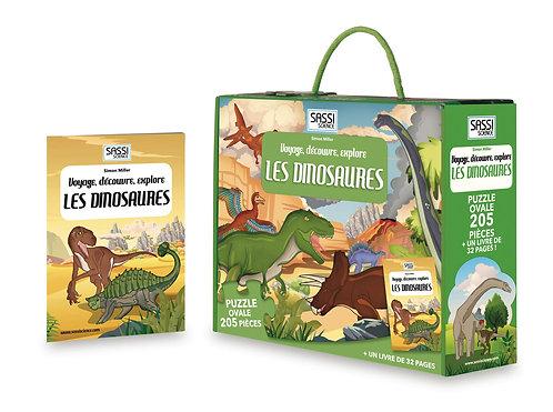 Voyage, découvre, explore Les dinosaures