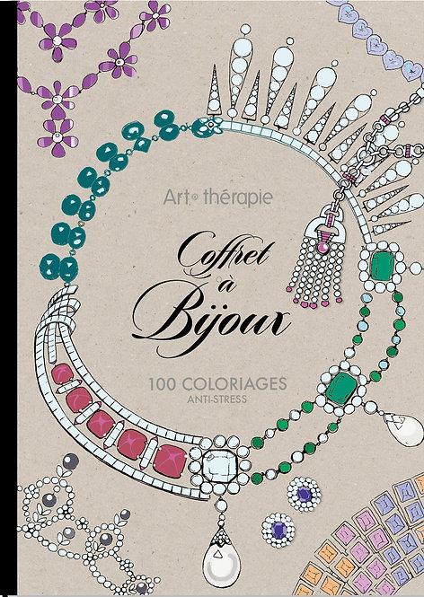 Art Therapie Coffret à Bijoux: 100 coloriages anti - stress