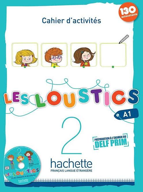Les Loustics 2: Cahier d'Activites + CD Audio