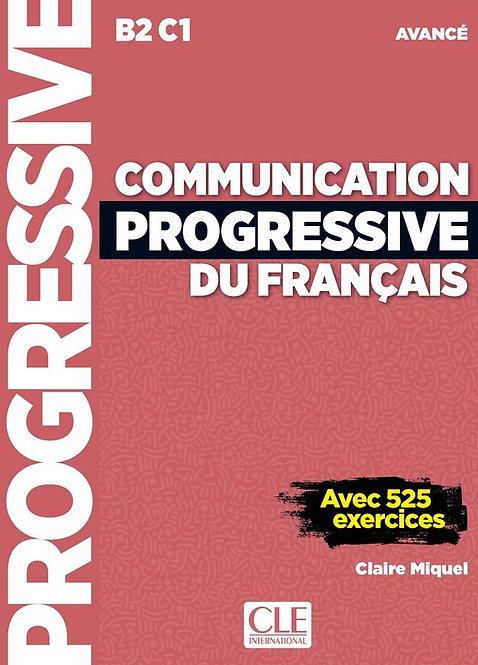 Communication progressive du français - Niveau avancé (B2/C1) - Livre + CD + Liv