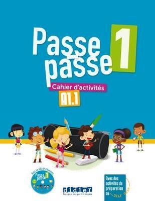 PASSE-PASSE 1 CAHIER+CD