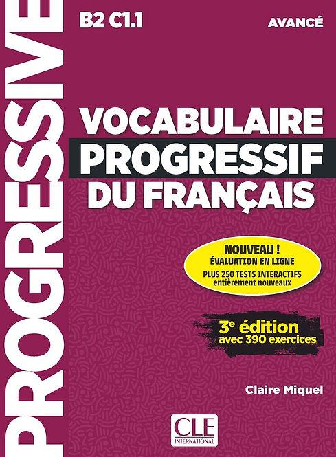 Vocabulaire progressif du français - Niveau avancé (B2/C1) - Livre + CD