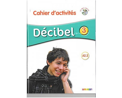 DECIBEL 3 CAHIER