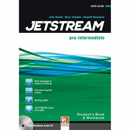 JETSTREAM pre-inter. SB/WB + CD FULL