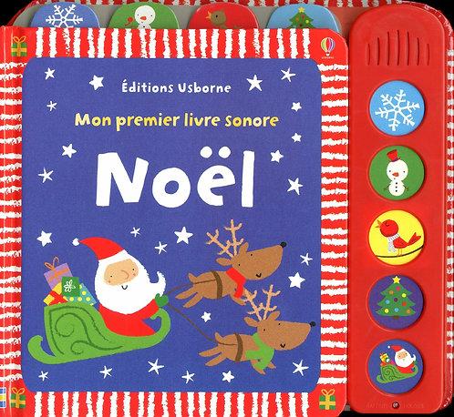Noël - Mon premier livre sonore