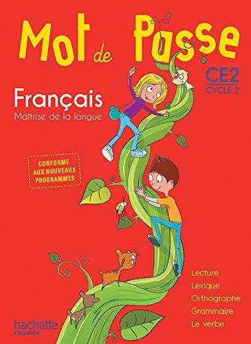 MOT DE PASSE FRANCAIS CE2 LIVRE