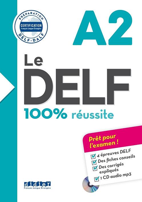 Le DELF – 100% réussite – A2 – Livre + CD