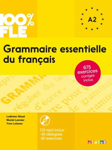 Grammaire essentielle du français A2 (avec 1 CD audio MP3)