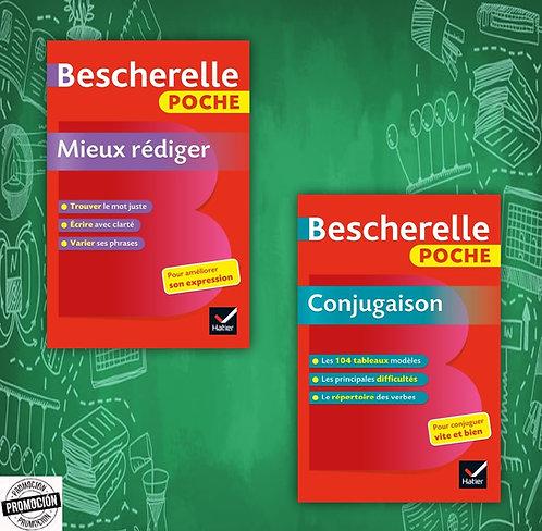 Bescherelle poche Mieux rédiger + Bescherelle poche Conjugaison