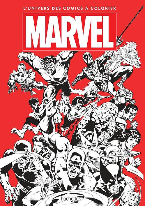 Marvel, l'univers des comics à colorier