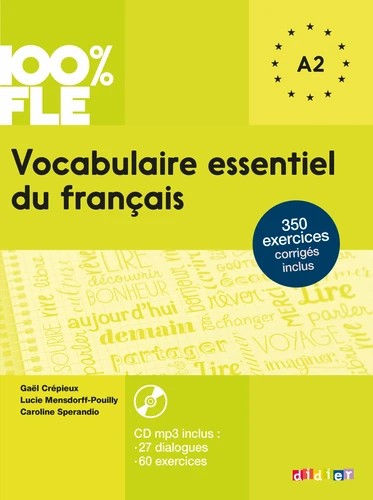 Vocabulaire essentiel du français A2 (avec 1 CD audio MP3)