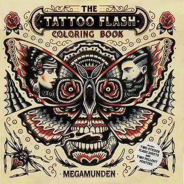 Le Livre des tatouages Ecussons (Art thérapie)