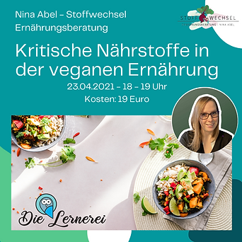 Nina Abel - Stoffwechsel Ernährungsberat