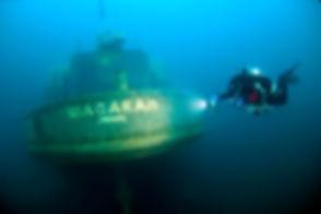 Tobermory Scuba Diving Shipwreck