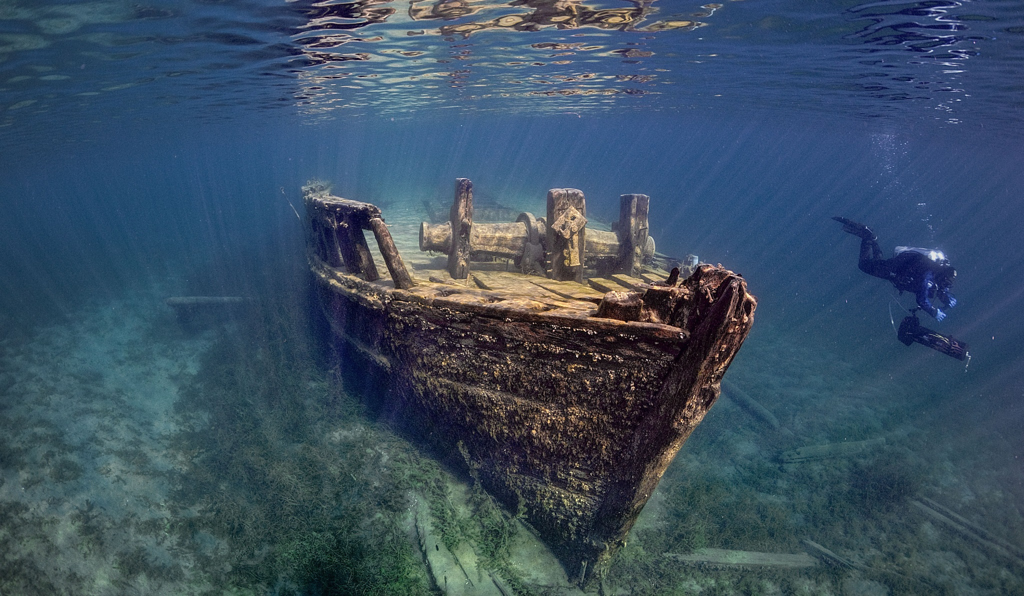 Tobermory Cottage Rental Shipwreck