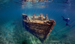 Tobermory Cottage Rental Shipwreck