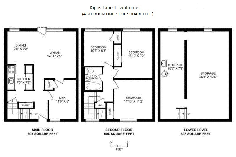 floor plan 4bd