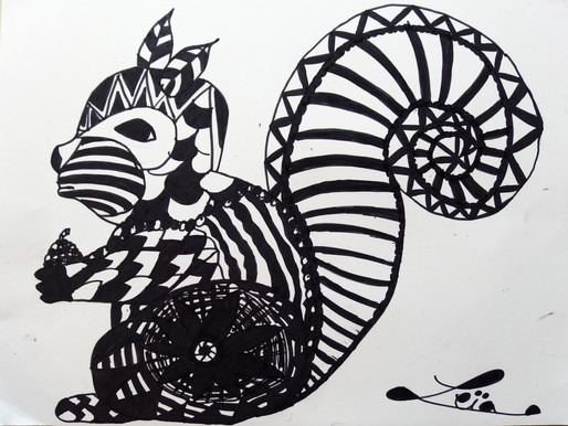 L'art en noir et blanc