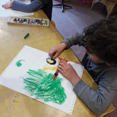 L'arbre à l'atelier Copains des arts