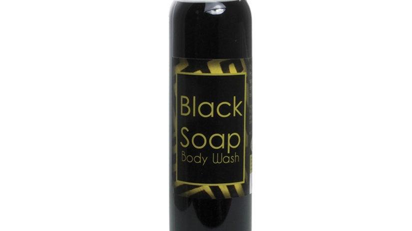 Liquid Black Soap/Body Wash 8oz.