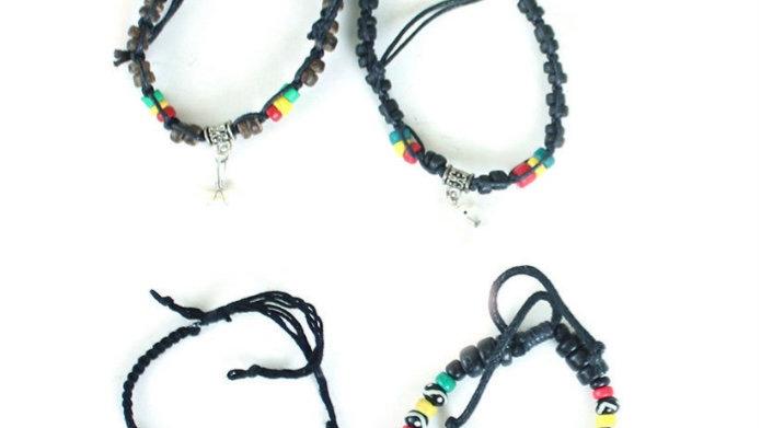 Rasta Bracelets 2 for $5