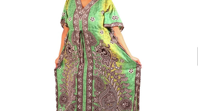 Mother Love Kaftan Green