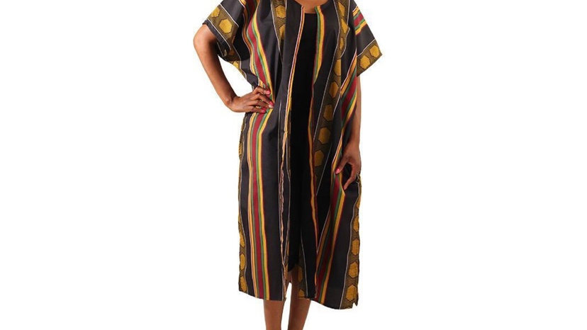 Kente Open Kaftan