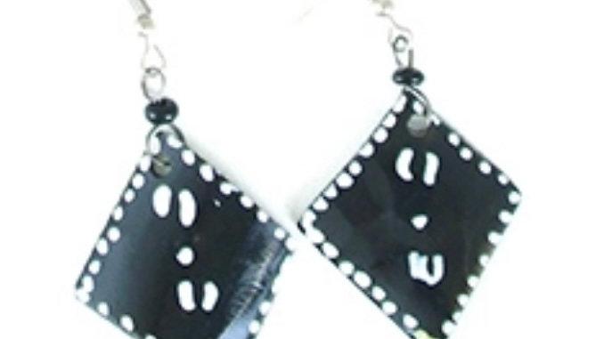 Afrocentric Bone Earrings