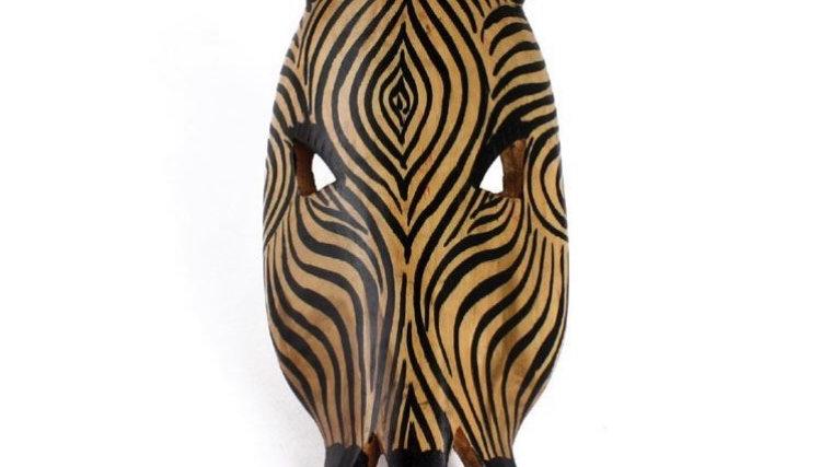 "Zebra Mask  14"""