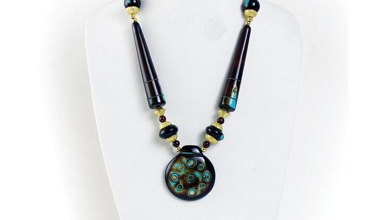 Antique Turquoise Necklace Set