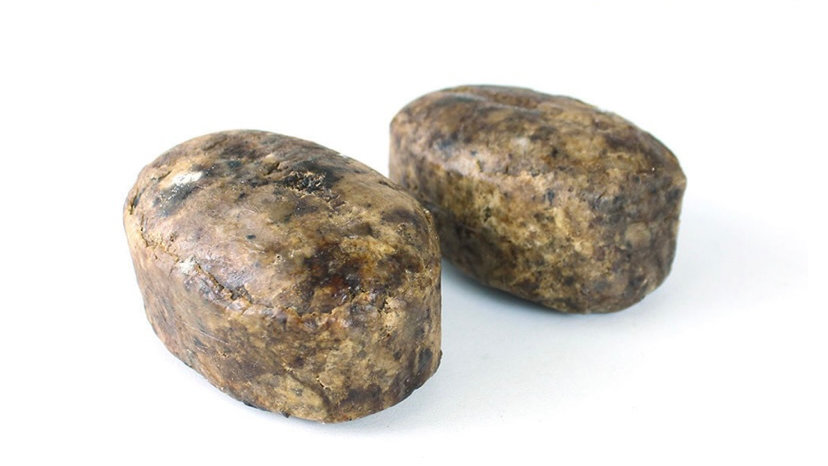 Raw Natural Black Soap