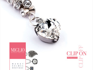 Mandy at Miglio promotes local jewellery  boutique with a little help from Glory Design.
