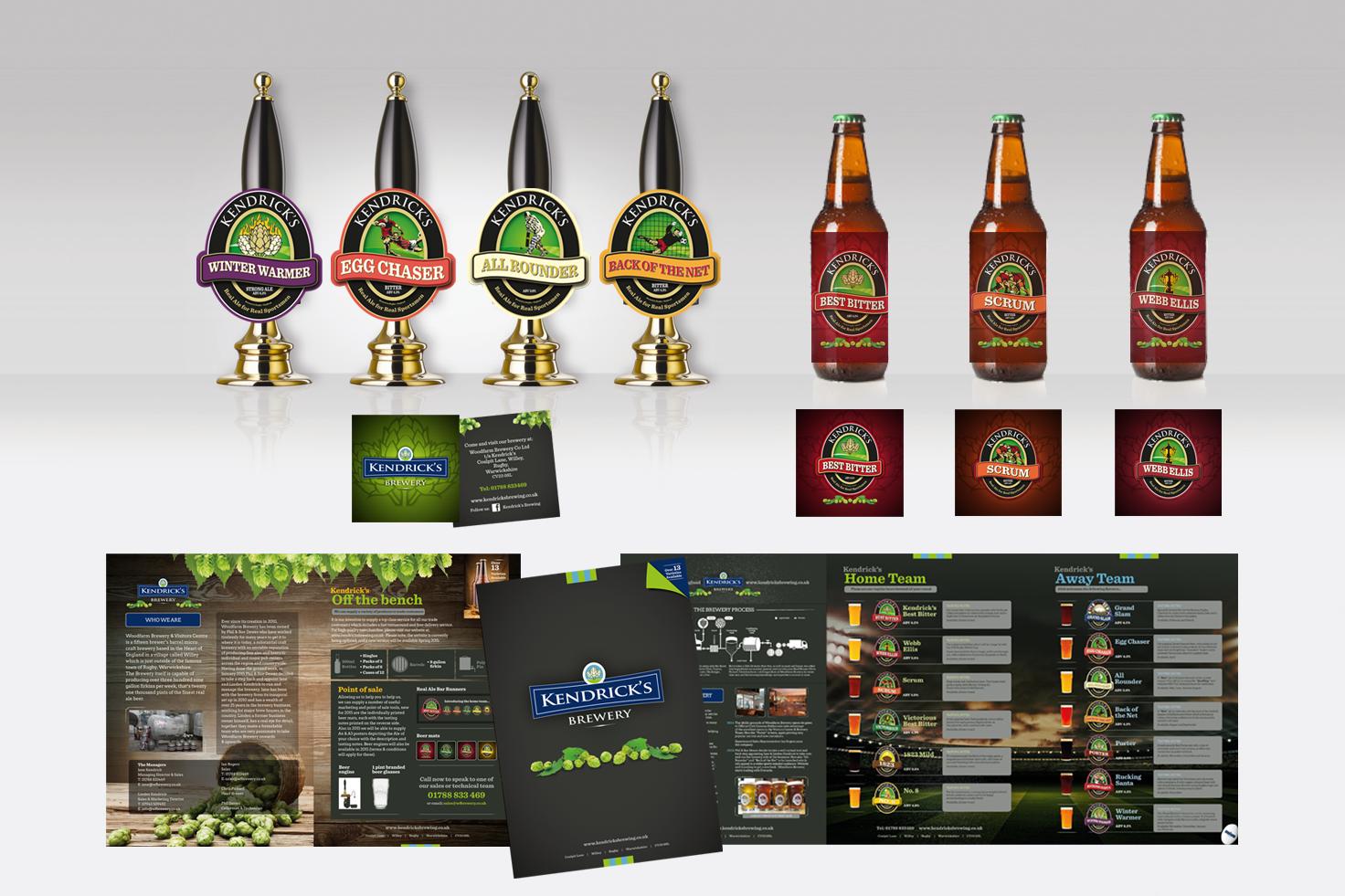 Kendrick's Brewery branding