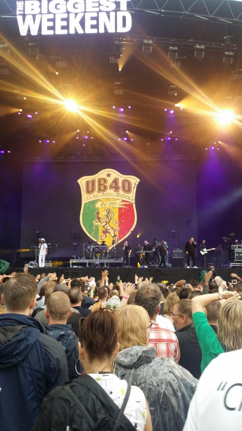 BBC Biggest Weekend Coventry UB40