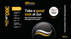 360 Lifecycle banner stand