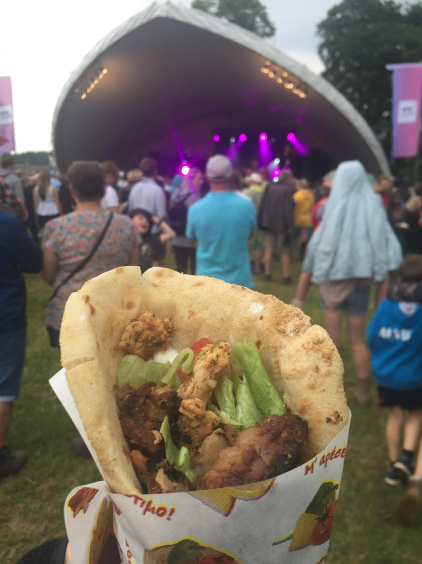 BBC Biggest Weekend Coventry food