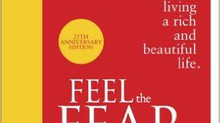 Feel the fear and do it anyway. Inspiring read of the month by Susan Jeffers
