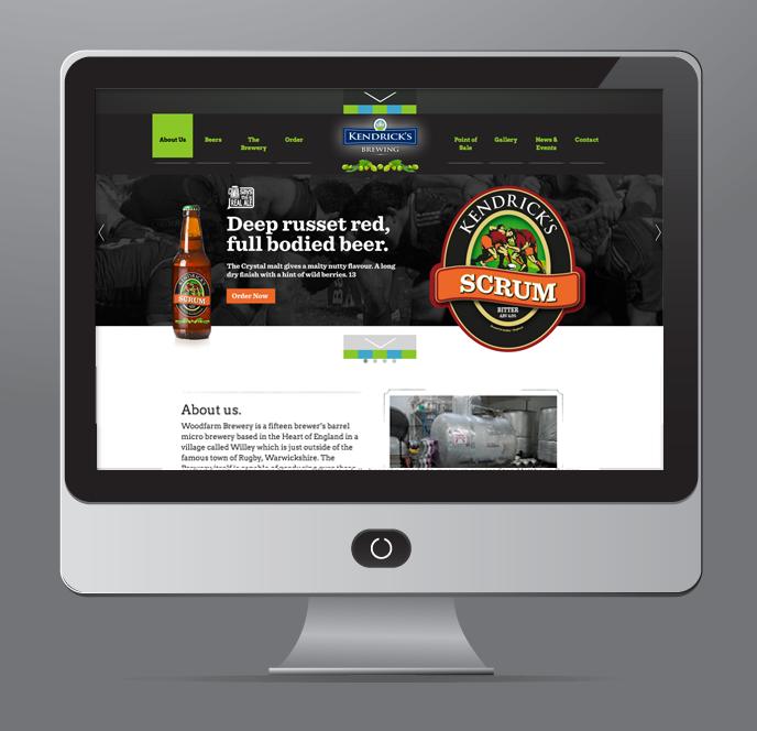 Kendricks Brewery website