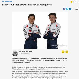 Autosport 2019