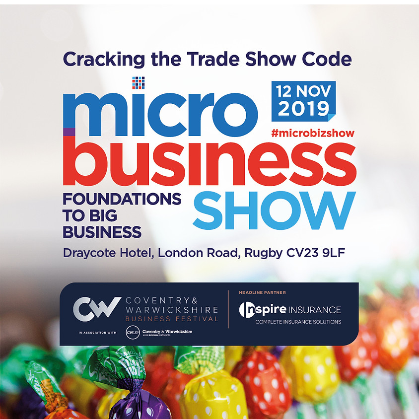 Cracking the Trade Show Code - part of The Coventry and Warwickshire Business Show