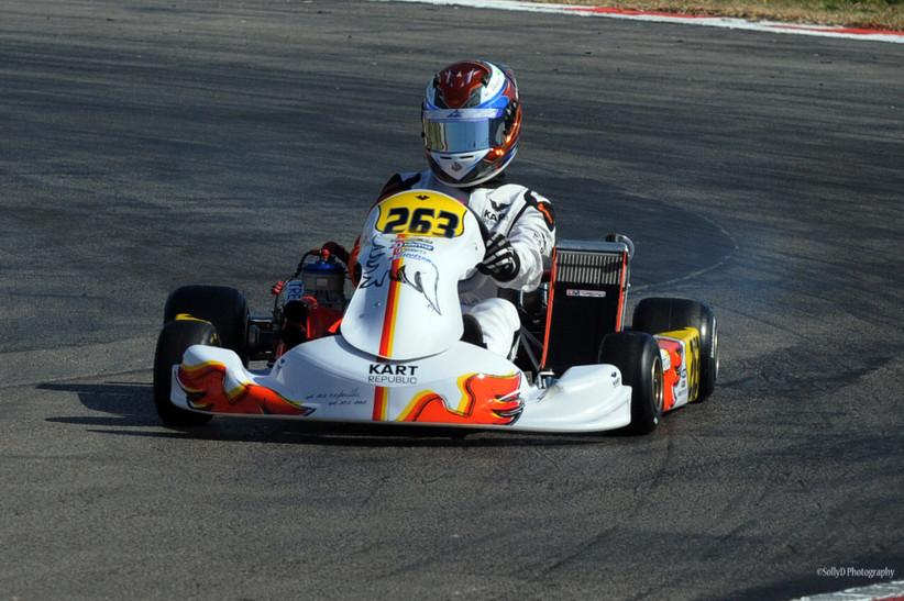 Josh Dufek new team Kart Republic 2019