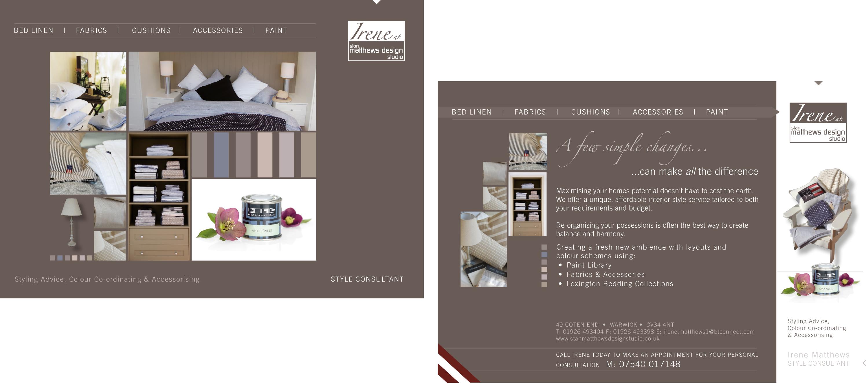 2 page mailer design