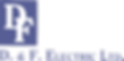 Josh Dufek sponsor D F Electric.png